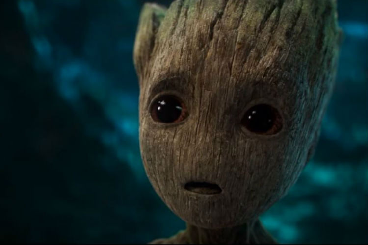 Baby Groot Guardians of the Galaxy 2 Trailer | YouTube Image For InUth.com