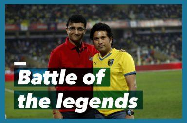 Sachin Tendulkar, Sourav Ganguly, Indian Super League