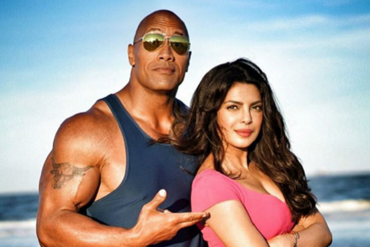 Baywatch Dwayne Johnson Priyanka Chopra | Express Archive Image For InUth.com