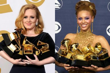 Beyonce Adele Grammy Image For InUth.com