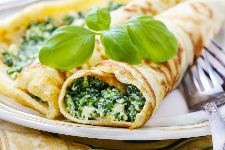 Broccoli Crepe New Year Recipe