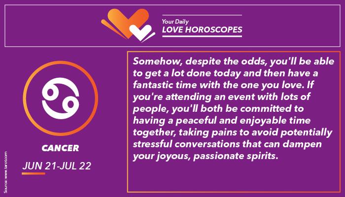 Cancer Love Horoscope