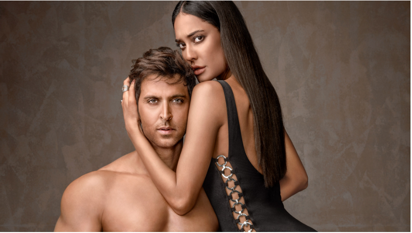 HOT & FIT: Hrithik Roshan & Lisa Haydon heat it up on Vogue cover