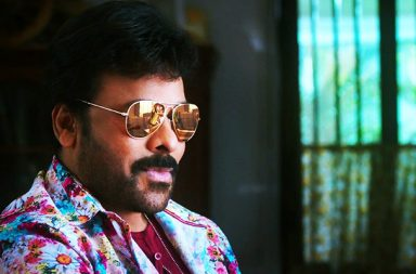 Chiranjeevi in a still from Khaidi No 150