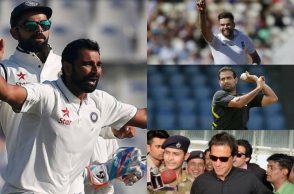 Mohammed Shami, Imran Khan, James Anderson