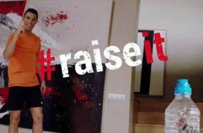 Cristiano Ronaldo, Dwyane Wade, viral, trending, football, basketball, Poker Stars, #raiseit challenge