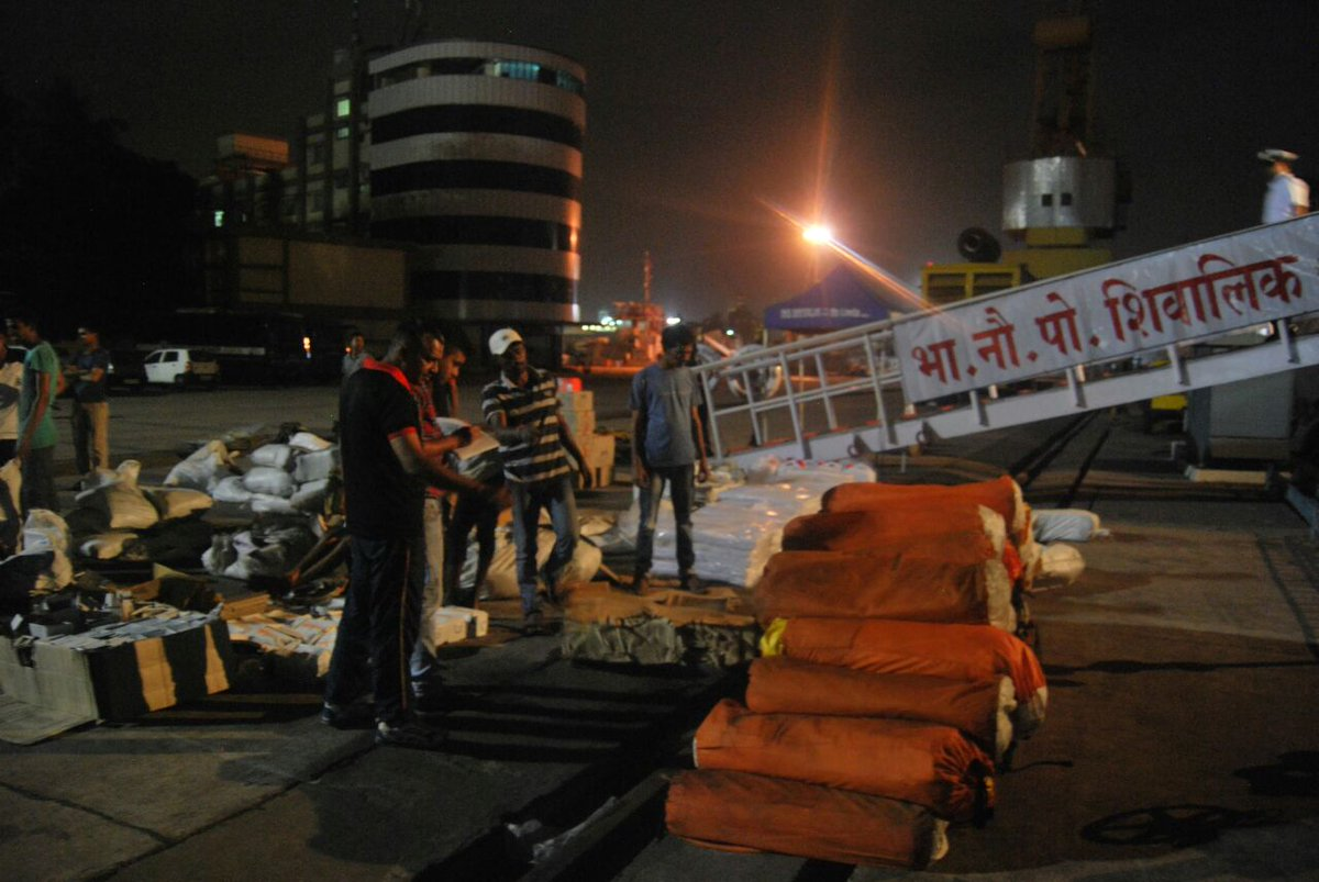 Cyclone Relief operations