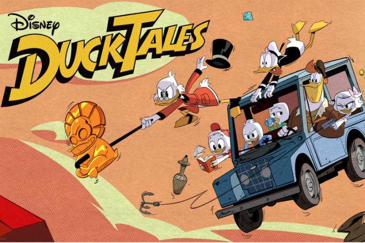DuckTales 2017 Reboot Banner | Disney Image For InUth.com