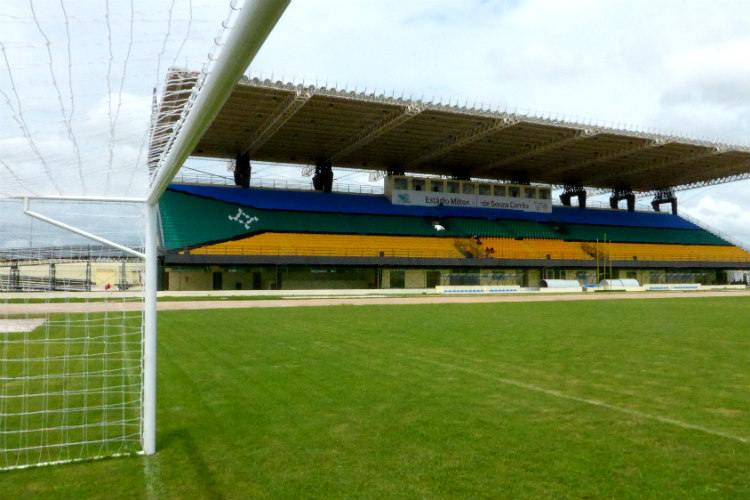 football, stadium, Zerao, Estadio Milton Correa, Estadio Aryton Senna, Brazil, South America, field