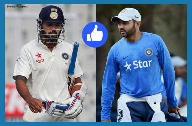 The Facebook respondents want Murali Vijay and Parthiv Patel to open the innings.