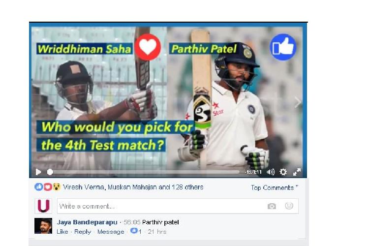 Wriddhiman Saha, Parthiv Patel