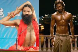 Watch: Baba Ramdev defeats Ranveer Singh hands down in dancefaceoff