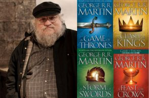 George RR Martin Game of Thrones Book | Image for InUth.com