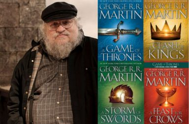 George RR Martin Game of Thrones Book   Image for InUth.com