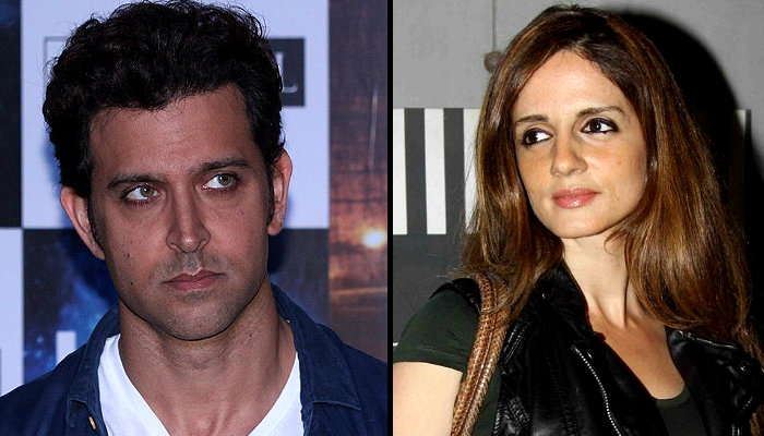 Hrithik Roshan And Sussanne Khan Had A Late Night Outing