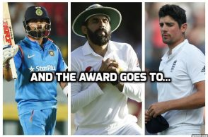 Virat Kohli, Alastair Cook, Misbah-ul-Haq, ICC Awards