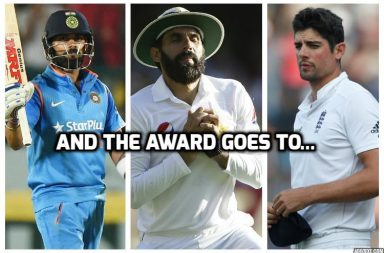 Virat Kohli, Alastair Cook, Misbah-ul-Haq, ICC Awards