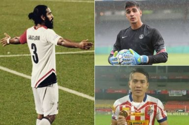 football, Indian, footballers, AIFF, Indian national football team, Gurpreet Singh Sandhu, Mohammed Rafique, Jeje Lalpekhlua, Lalrindika Ralte, Jackichand Singh, Sandesh Jhingan, Pritam Kotal