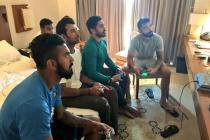 'PS: I love you' say Indian cricketers to their newobsession