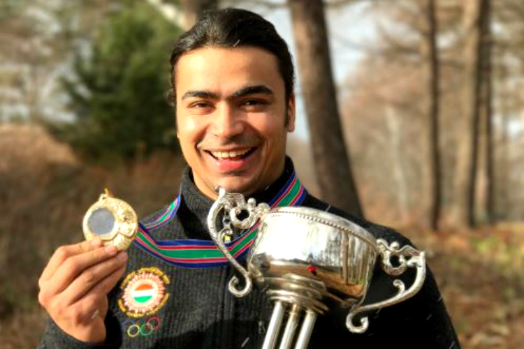 Shiva Keshavan won gold at Asian Luge Championship