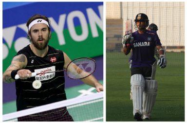 Sachin Tendulkar, Jan O Jorgensen, Premier Badminton League