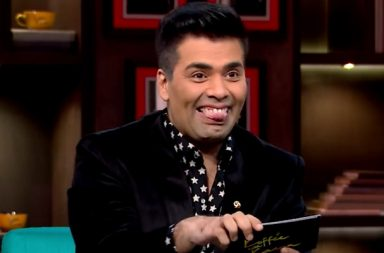 Karan Johar in Koffee With Karan screen grab
