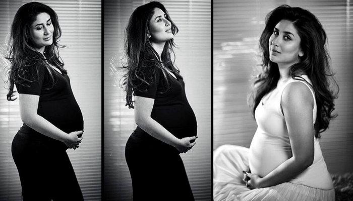 Kareena Kapoor pregnant photoshoot Instagram pics