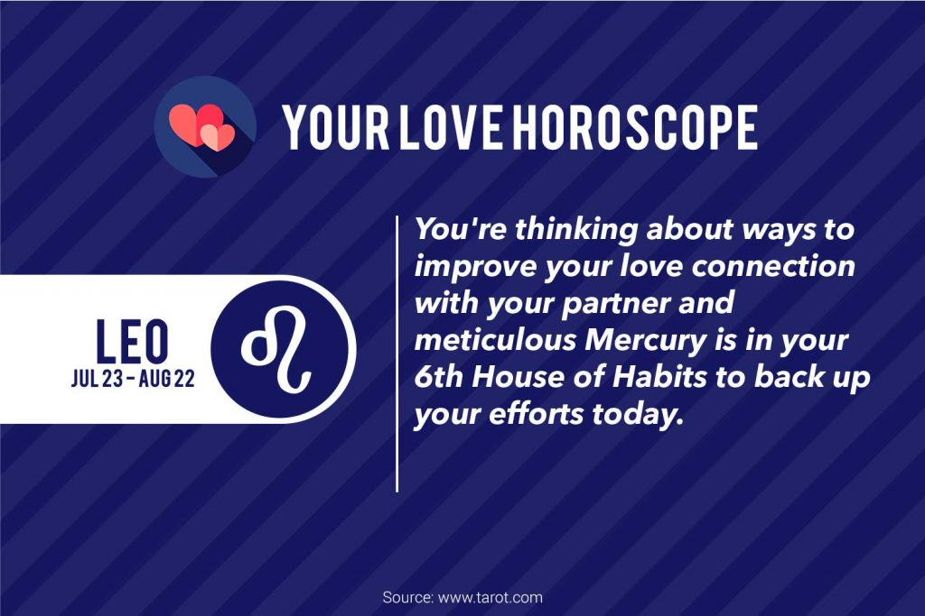 leo love horoscopes