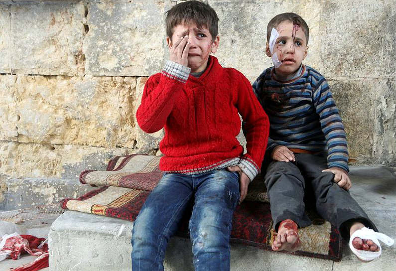 Aleppo Crisis image for inuth- Reuters