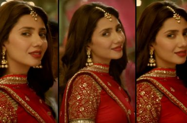Mahira Khan in Raees trailer YouTube screen grab
