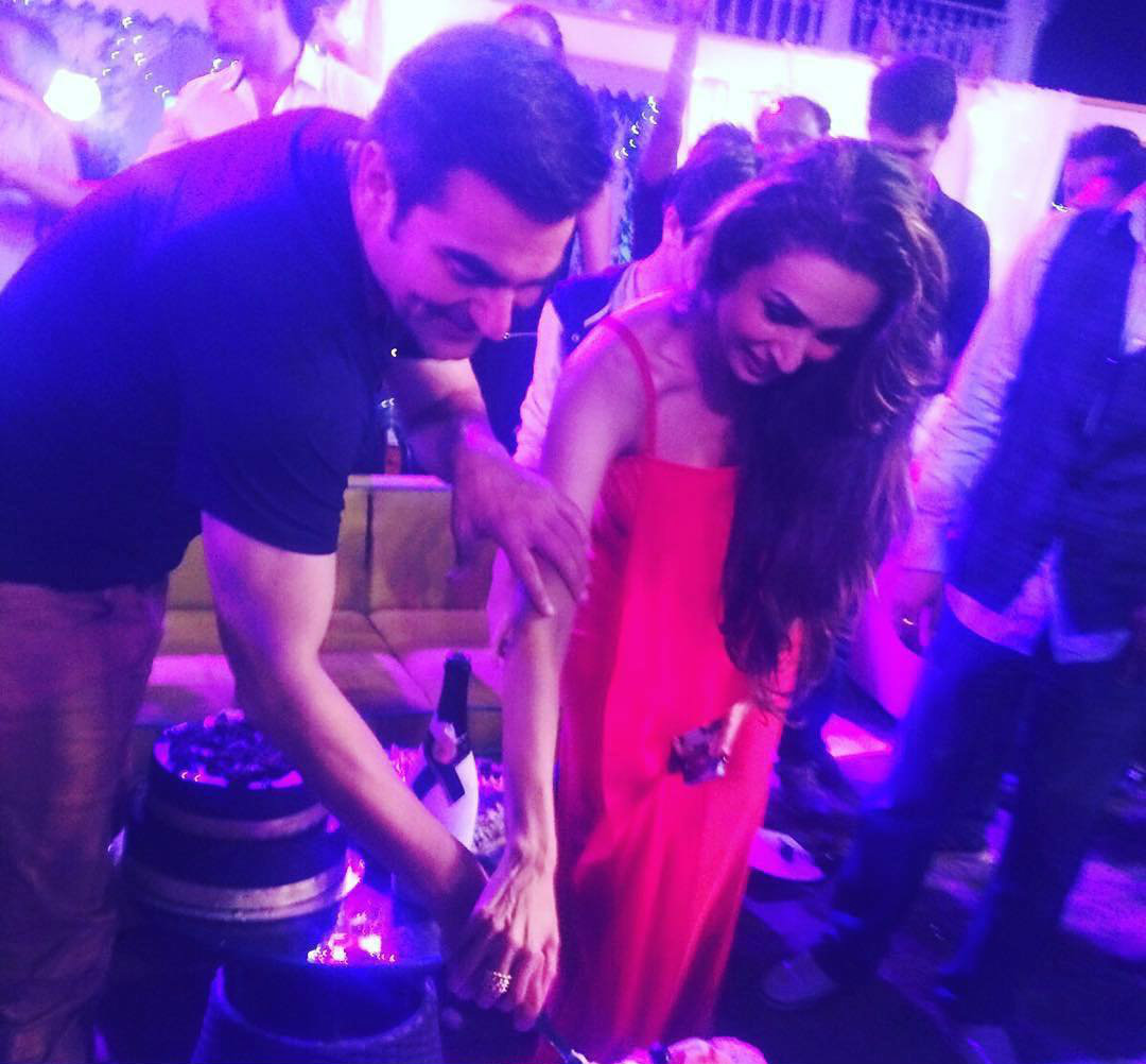 Malaika Arora Khan and Arbaaz Khan (Courtesy: Instagram)