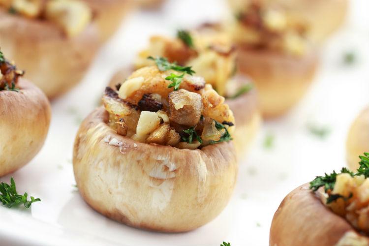 Stuffed Mushroom New Year Recipe