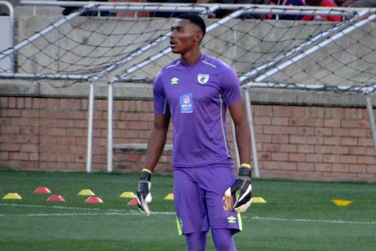 football, Oscarine Masuluke, South Africa, goalie, bicycle kick, goal,
