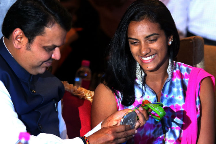 PV Sindh, Devendra Fadnavis, Rio Olympics
