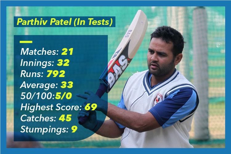 Parthiv Patel, Indian cricket team
