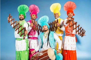 Jhalak Punjab Di, Punjabi Bhangada group