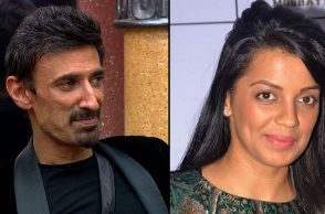 Rahul Dev Mugdha Godse IANS Colors TV photo