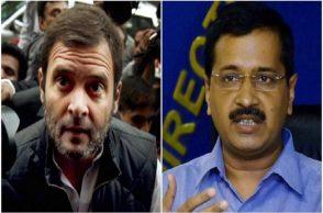 Rahul Gandhi, Arvind Kejriwal