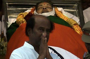 Rajnikanth at Jayalalithaa's funeral-PTI