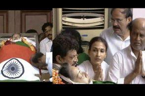 Rajnikanth pays tribute to amma