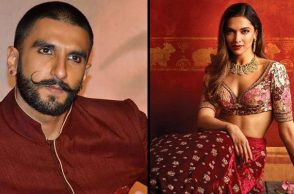 Ranveer Singh and Deepika Padukone Instagram photos for InUth.com