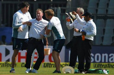 Paul Reiffel, India vs England