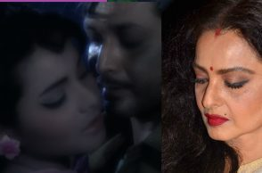 Rekha biswajit controversial kissing scene