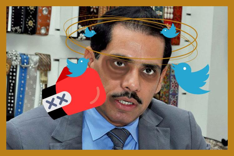 Twitter rips apart Robert Vadra for his rant ondemonetization