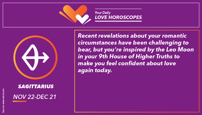 Sagittarius Love Horoscope | Image for InUth.com