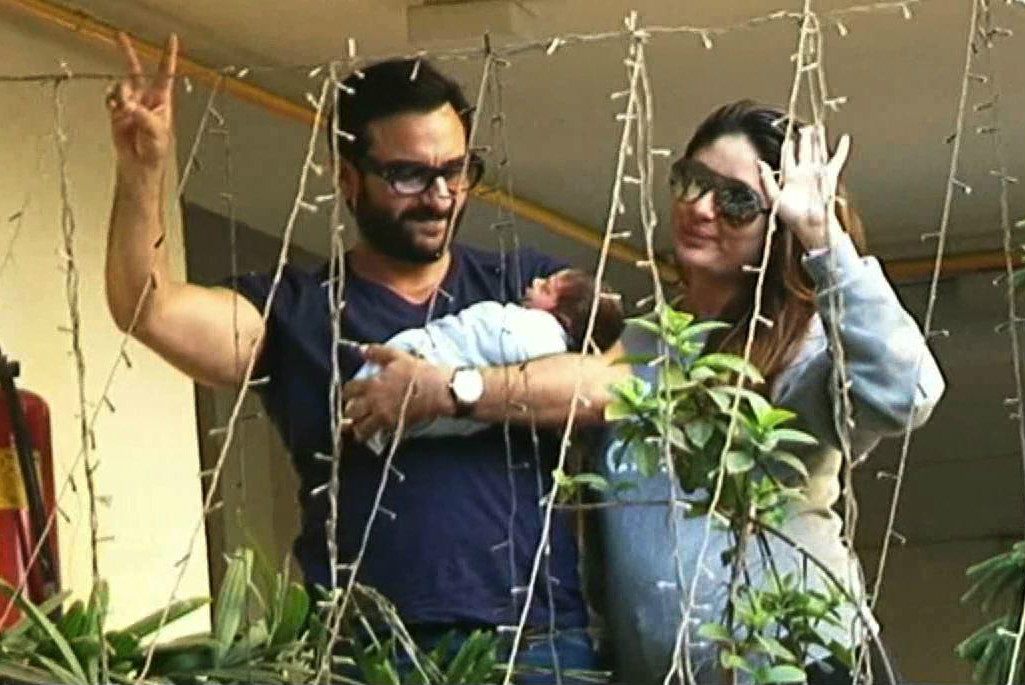 Taimur Ali Khan is again creating waves for his unique Nickname, Its not 'Saifeena' 1