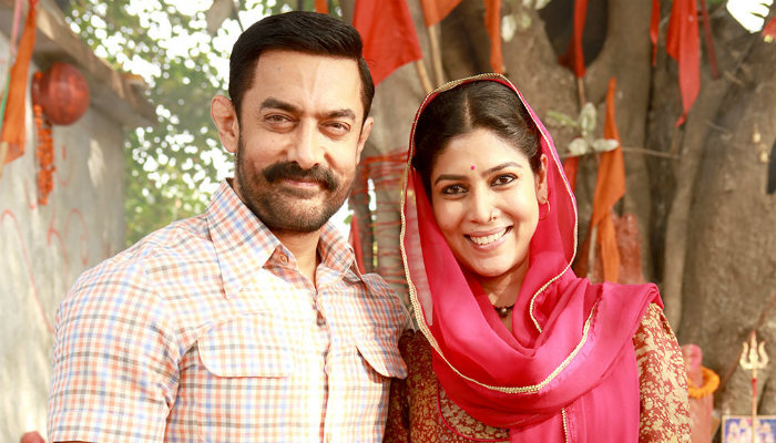 Sakshi Tanwar Aamir Khan Dangal stills