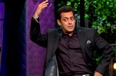 Salman Khan Koffee With Karan screen grab for InTUh dot com