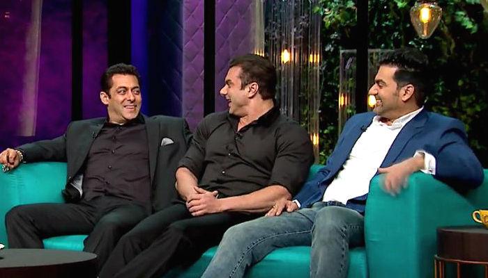 Salman Khan on Koffee With Karan Twitter image for InUth dot com new