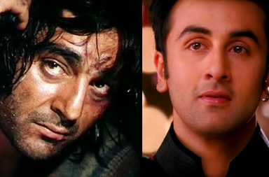 Sanjay Dutt in Khalnayak Ranbir Kapoor in Yeh Jawaani Hai Deewani still for InUth dot com